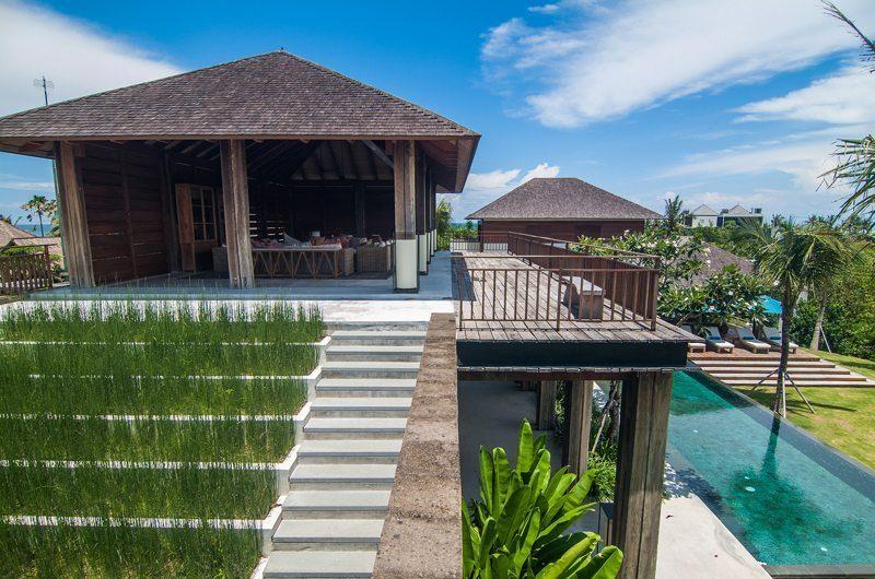 Ambalama Villa Outdoor Area, Seseh | 7 Bedroom Villas Bali
