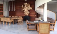 Ambalama Villa Dining Area with Up Stairs, Seseh | 7 Bedroom Villas Bali