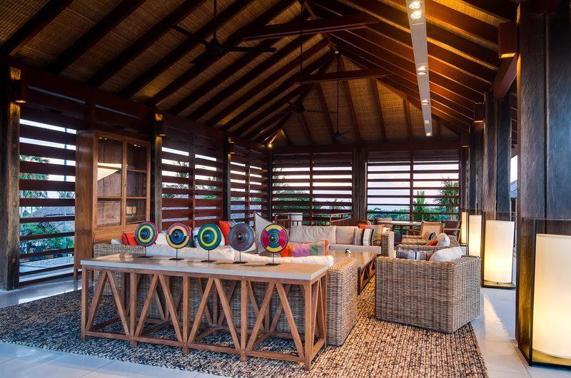 Ambalama Villa Living Area, Seseh | 7 Bedroom Villas Bali