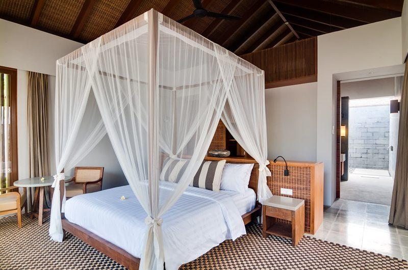Ambalama Villa Bedroom with Mosquito Net, Seseh | 7 Bedroom Villas Bali