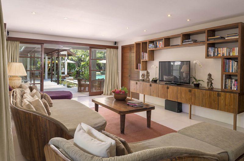 Lataliana Villas TV Room, Seminyak | 7 Bedroom Villas Bali