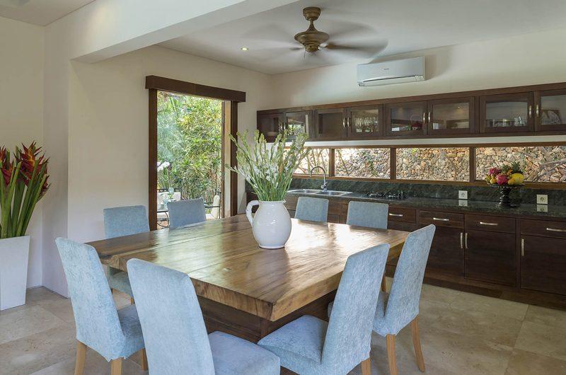 Lataliana Villas Kitchen and Dining Area, Seminyak | 7 Bedroom Villas Bali