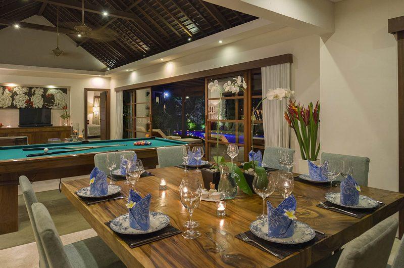 Lataliana Villas Dining Area, Seminyak | 7 Bedroom Villas Bali