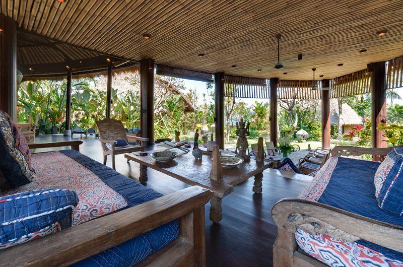 Taman Ahimsa Living Area, Seseh | 7 Bedroom Villas Bali
