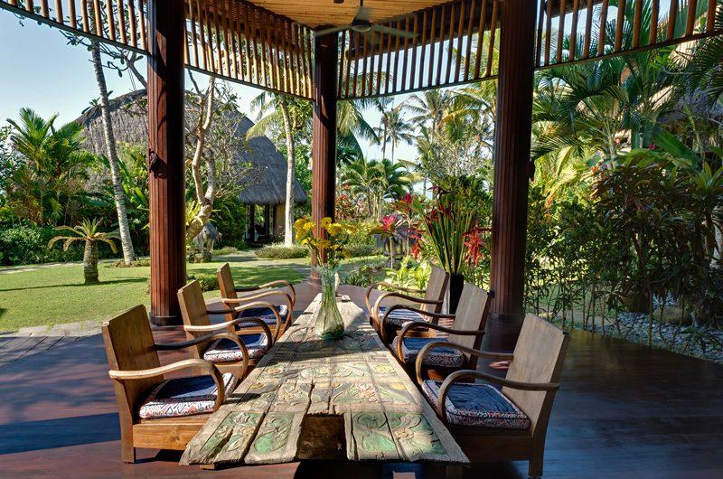 Taman Ahimsa Dining Area with Garden View, Seseh | 7 Bedroom Villas Bali
