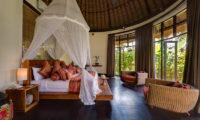 Taman Ahimsa Bedroom with Mosquito Net, Seseh | 7 Bedroom Villas Bali