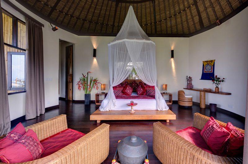 Taman Ahimsa Bedroom with Wooden Floor, Seseh | 7 Bedroom Villas Bali