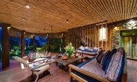 Taman Ahimsa Indoor Living Area, Seseh | 7 Bedroom Villas Bali