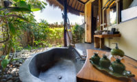 Taman Ahimsa Semi Open Bathroom with Bathtub, Seseh | 7 Bedroom Villas Bali