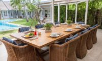 The Cotton House Outdoor Dining, Seminyak | 7 Bedroom Villas Bali