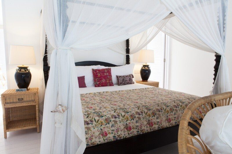 The Cotton House Bedroom with Mosquito Net, Seminyak | 7 Bedroom Villas Bali