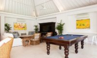 The Cotton House Living Area with Billiard Table, Seminyak | 7 Bedroom Villas Bali