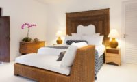 The Cotton House Bedroom with Table Lamps, Seminyak | 7 Bedroom Villas Bali