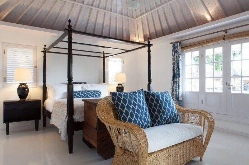 The Cotton House Bedroom with Seating Area, Seminyak | 7 Bedroom Villas Bali