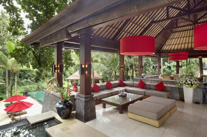 The Sanctuary Bali Living Area, Canggu | 7 Bedroom Villas Bali