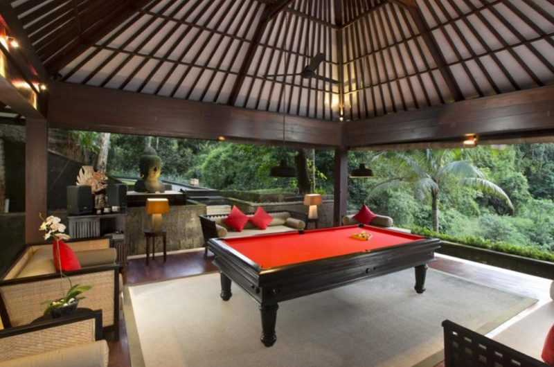 The Sanctuary Bali Billiard Table, Canggu | 7 Bedroom Villas Bali