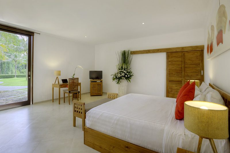 The Sanctuary Bali Bedroom with TV, Canggu | 7 Bedroom Villas Bali