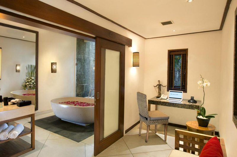 The Sanctuary Bali Romantic Bathtub Set Up, Canggu | 7 Bedroom Villas Bali