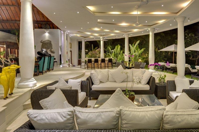 Uma Wana Prasta Living Area, Canggu | 7 Bedroom Villas Bali