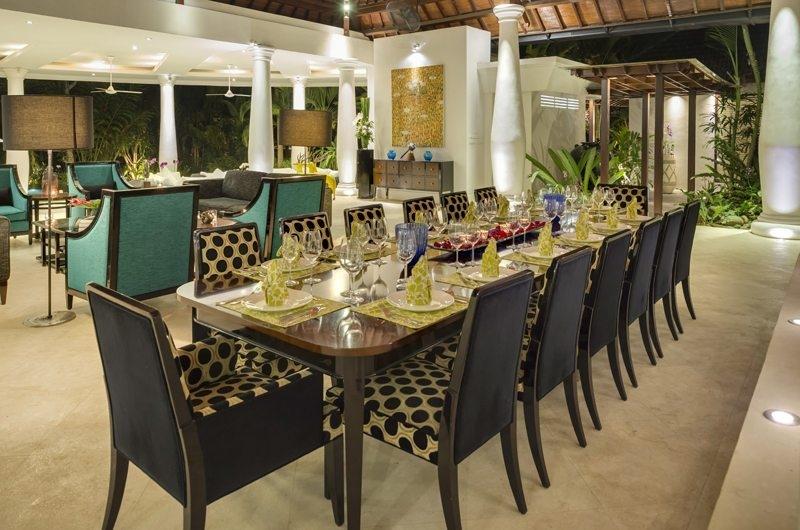 Uma Wana Prasta Dining Area, Canggu | 7 Bedroom Villas Bali