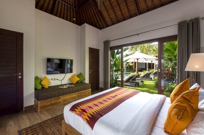 Villa Anam Bedroom with Pool View, Seminyak | 7 Bedroom Villas Bali