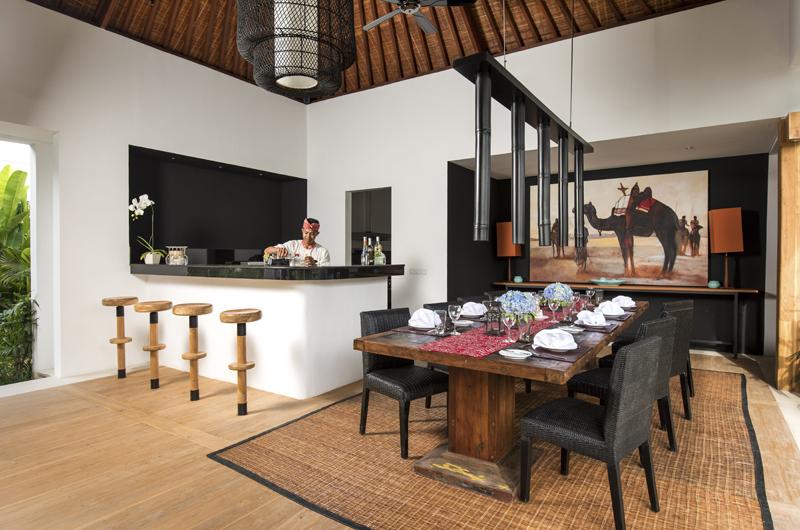 Villa Anam Dining Area, Seminyak | 7 Bedroom Villas Bali