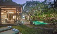 Villa Avalon Bali Pool at Night, Canggu | 7 Bedroom Villas Bali