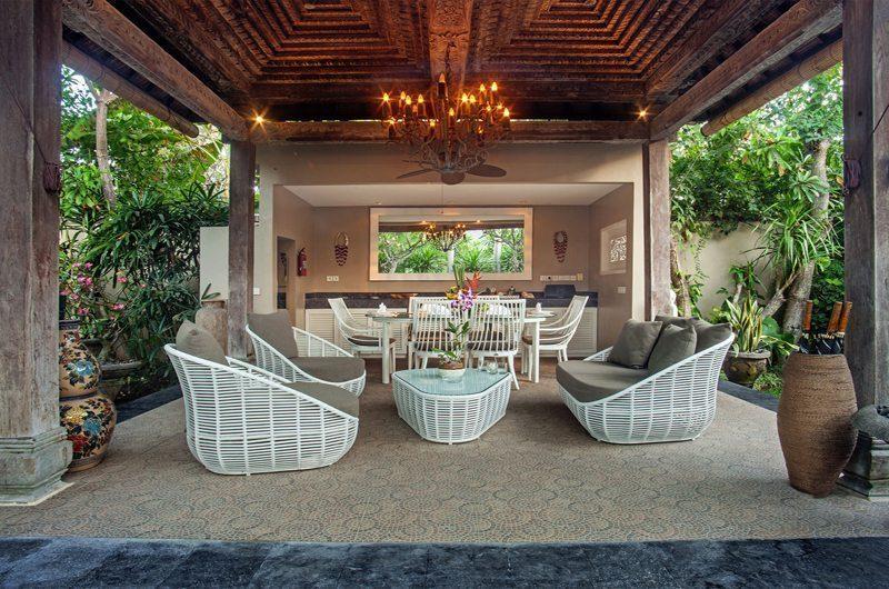 Villa Avalon Bali Outdoor Seating Area, Canggu | 7 Bedroom Villas Bali