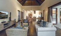 Villa Avalon Bali Living Area with TV, Canggu | 7 Bedroom Villas Bali