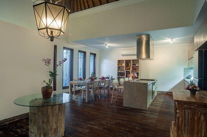 Villa Avalon Bali Kitchen and Dining Area, Canggu | 7 Bedroom Villas Bali