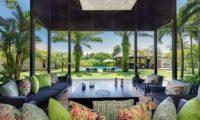 Bendega Villas Living Area with Pool View, Canggu | 7 Bedroom Villas Bali