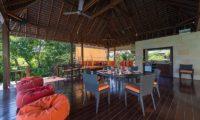 Bendega Villas Dining Area, Canggu | 7 Bedroom Villas Bali