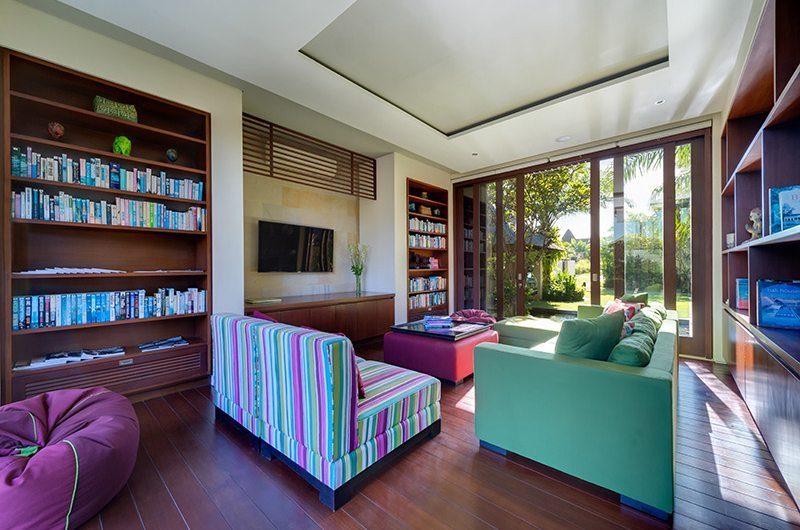 Bendega Villas Study Area with Sofa, Canggu | 7 Bedroom Villas Bali