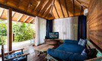 Villa Hansa Lounge Area with TV, Canggu | 7 Bedroom Villas Bali