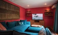 Villa Hansa TV Room, Canggu | 7 Bedroom Villas Bali