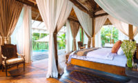 Villa Hansa Bedroom with Pool View, Canggu | 7 Bedroom Villas Bali