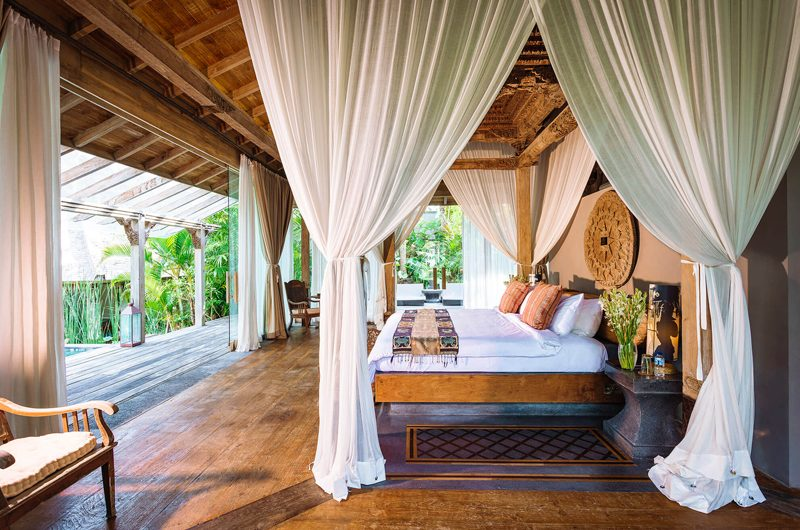 Villa Hansa Bedroom with Garden View, Canggu | 7 Bedroom Villas Bali