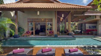 Villa Kinaree Estate Outdoor Area, Seminyak | 7 Bedroom Villas Bali