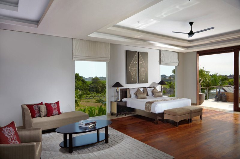 Villa Malaathina Bedroom and Balcony, Umalas | 7 Bedroom Villas Bali