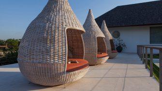 Villa Malaathina Outdoor Seating Area, Umalas | 7 Bedroom Villas Bali
