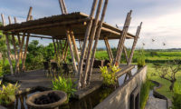 Villa Mandalay Outdoor Seating Area with View, Seseh | 7 Bedroom Villas Bali