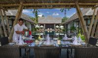 Villa Mandalay Pool Side Dining, Seseh | 7 Bedroom Villas Bali