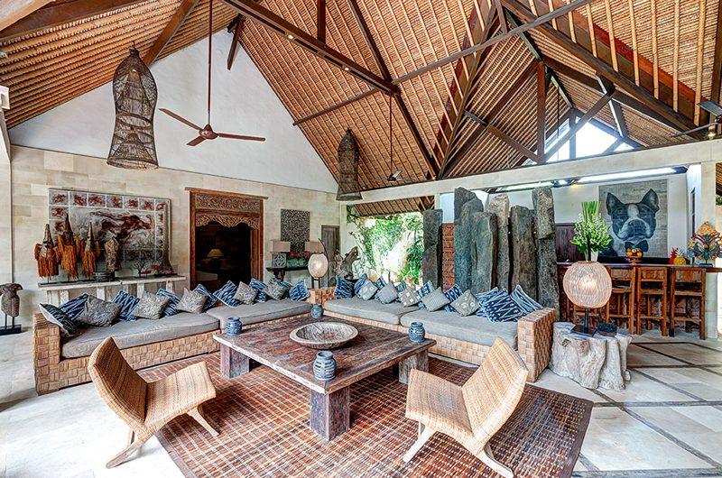 Villa Massilia Indoor Living Area, Seminyak | 7 Bedroom Villas Bali