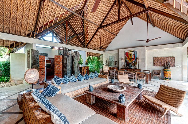 Villa Massilia Living Area, Seminyak | 7 Bedroom Villas Bali