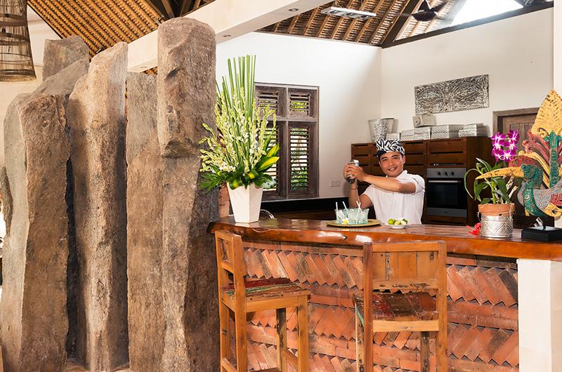 Villa Massilia Bar Counter, Seminyak | 7 Bedroom Villas Bali