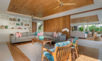 Villa Zambala Living Area, Canggu | 7 Bedroom Villas Bali