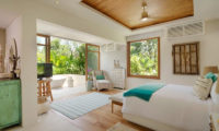 Villa Zambala Bedroom with TV, Canggu | 7 Bedroom Villas Bali